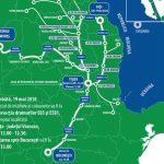 Marș motorizat de la Iași spre București, pentru autostradă în Moldova