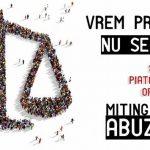 PNTCD cheama la mitingul impotriva abuzurilor, a statului paralel si a miscarilor nazisto-staliniste care au acaparat statul roman! Pentru democratie!