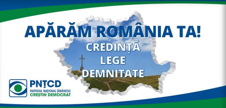 PNTCD, pentru democrație!
