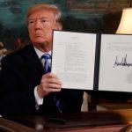 Donald Trump denunță Acordul nuclear cu Iranul!