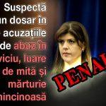 Aurelian Pavelescu, avocat și președinte PNTCD: Kovesi trebuie suspendată temporar din funcția de procuror și scoasă din procedura de selecție de la Bruxelles pentru funcția de procuror șef european